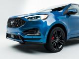 Дизайн носовой части кузова Ford Edge ST 2018-2019