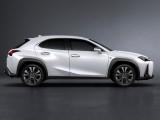 Lexus UX F Sport вид сбоку