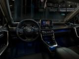Интерьер Тойота РАВ 4 пятого поколения