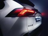 Фото Toyota RAV4 Hybrid оптика и элементы декора