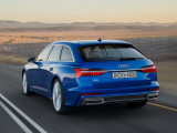 Audi A6 Avant вид сзади