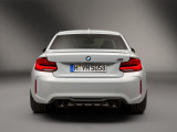BMW M2 Competition вид сзади