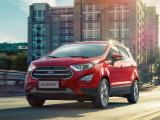 Форд Экоспорт в красном цвете
