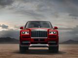 Rolls-Royce Cullinan вид спереди