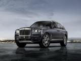 Четырехместный Rolls-Royce Cullinan цвет Darkest Tungsten