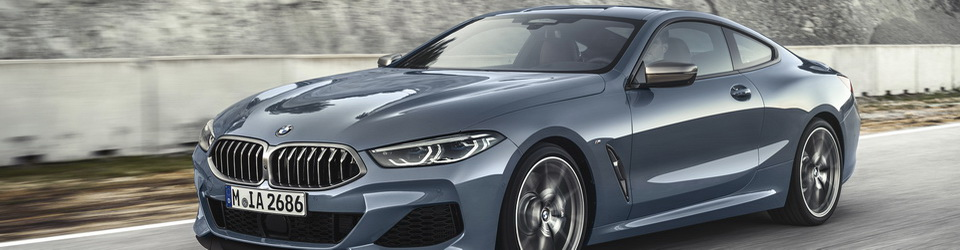BMW 8-Series Coupe 2018-2019