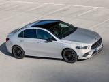 Дизайн кузова нового A-Class sedan