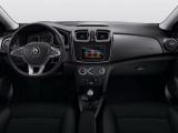 Интерьер Renault Logan рестайлинг