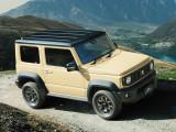 Suzuki Jimny внешний облик