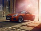 Фото нового BMW Z4 2018-2019 внешний дизайн