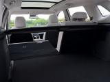 Багажник со сложенными спинками
