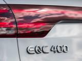 Шильдик EQC 400 на кузове