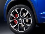 Колесные диски с красными тормозными суппортами