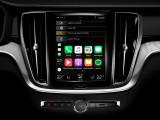 Экран медиа-системы Volvo Sensus
