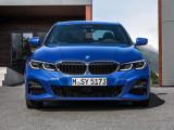 Фото BMW 3-Series 2019-2020 вид спереди (M Sport)