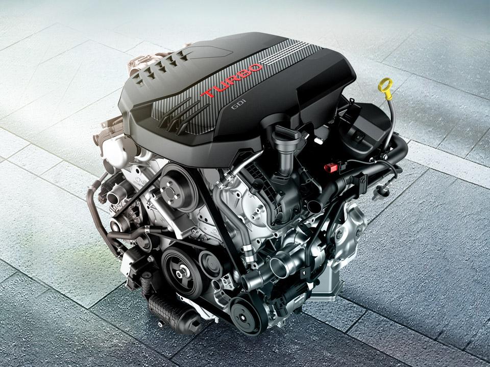Двигатель 3.3 T-GDI