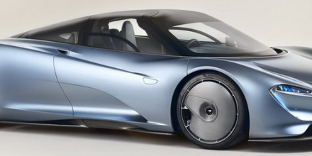 McLaren Speedtail 2019-2020