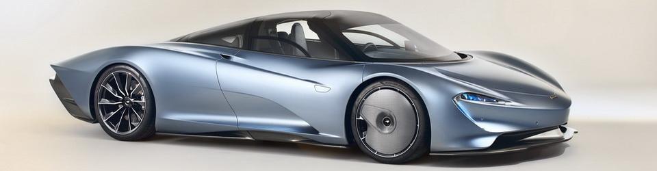 McLaren Speedtail 2019-2020
