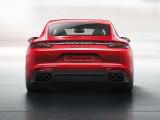 Лифтбек Porsche Panamera GTS вид сзади