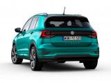 Новый Volkswagen T-Cross вид сзади