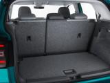 Багажник со сдвинутыми вперед задними сиденьями