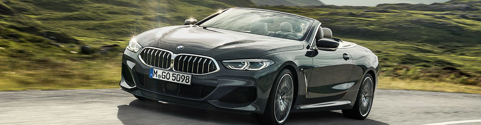 BMW 8-Series Convertible 2019-2020