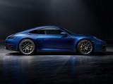 Фото Порше 911 2019 профиль купе