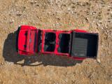 Фото Jeep Gladiator вид сверху