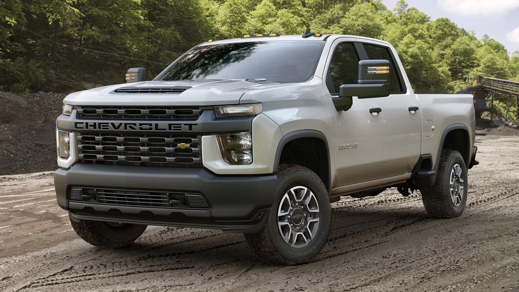 Фото Chevrolet Silverado HD 2020 (версия Work Truck)