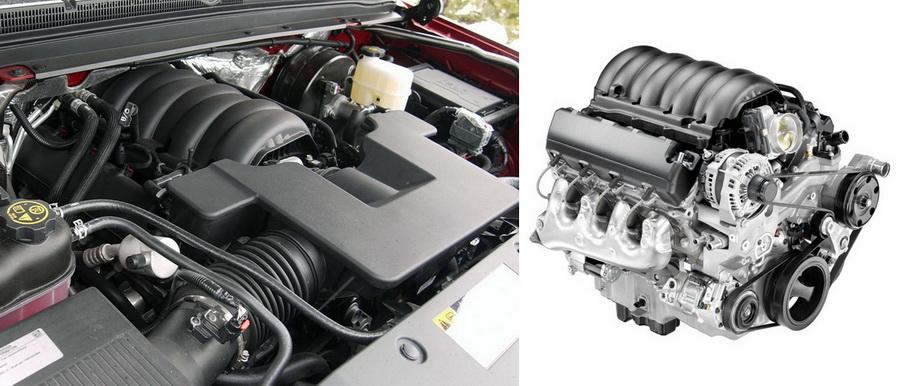 Двигатель Шевроле Тахо