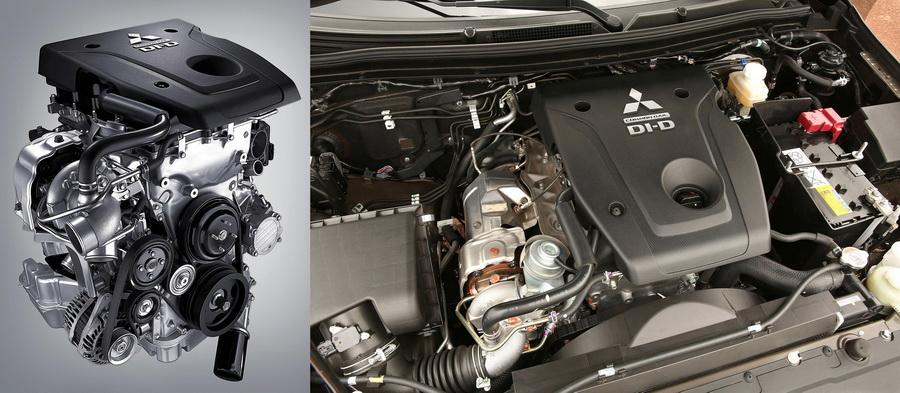 Двигатель 4N15 нового Митсубиси Л200 фото